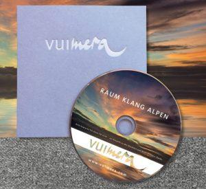CD Vuimera RaumKlangAlpen | Foto Matt Gibson, Shutterstock | Design Barbie Schleich