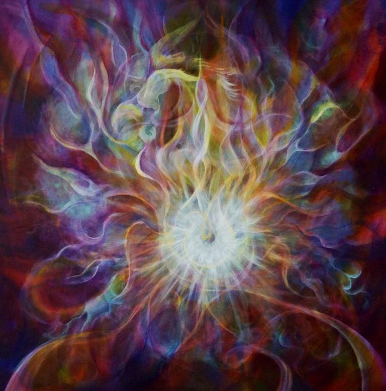 Milena Soyoug - Energiebild Mystischer Heilgeist